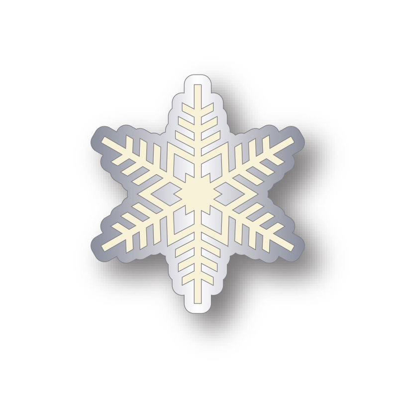 charity snowflake badge design