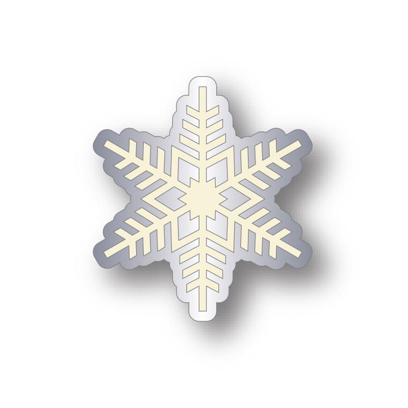 charity snowflake badge design