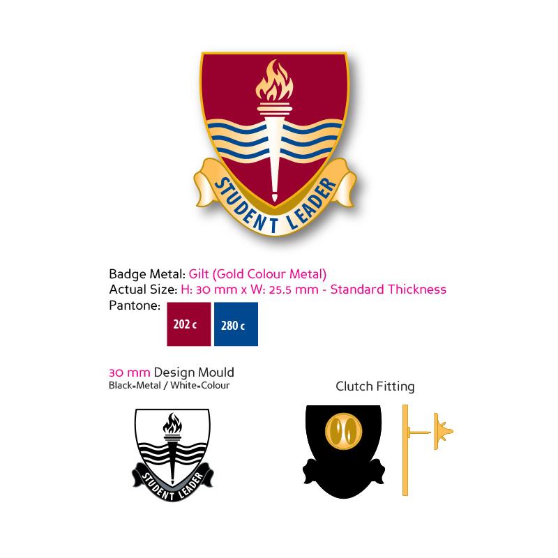 enamel badge design