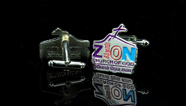 bespoke charity cufflinks
