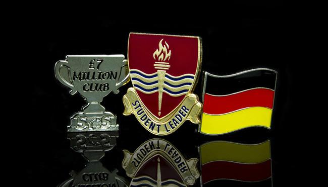 bespoke enamel pin badges