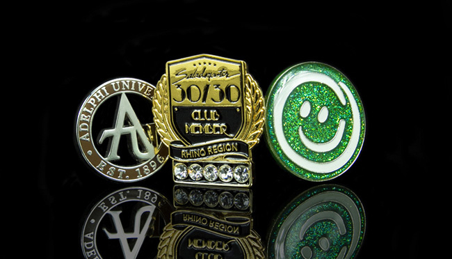 speciality pin badges