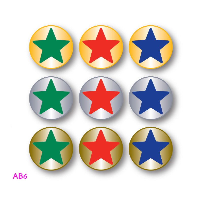 school star award badge design