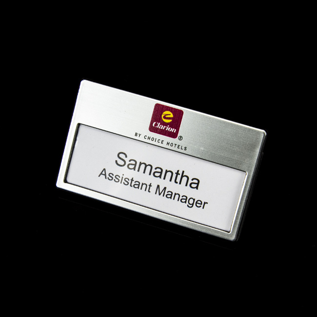 Name Badges | Corporate Name Badges | ID Badges - BT&T