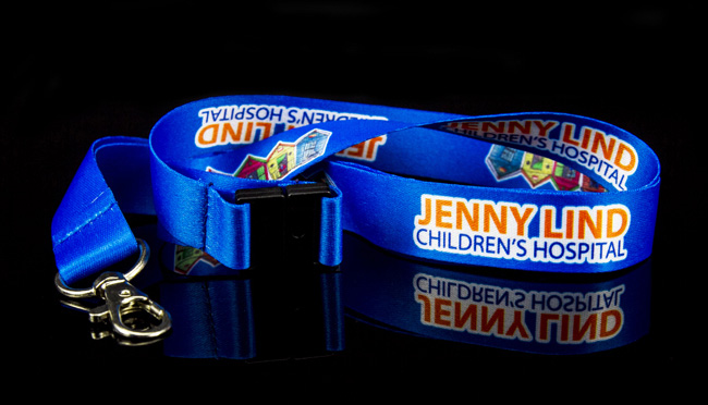 bespoke charity lanyards
