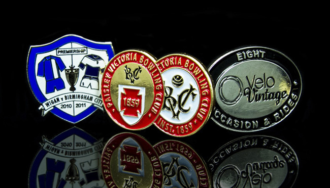 bespoke club pin badges