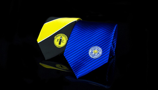 custom football club neckties