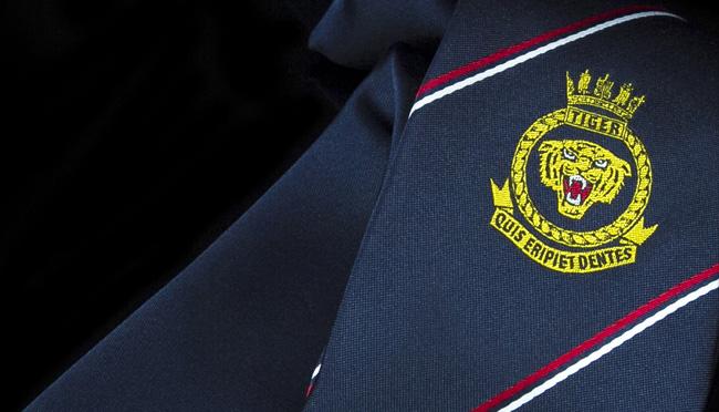 bespoke regimental army neckties